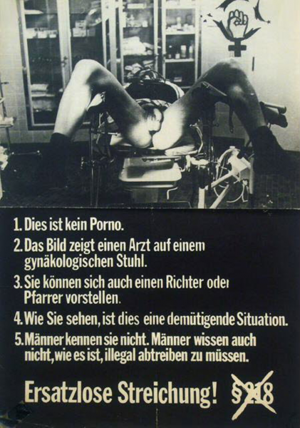 Plakat aus dem Jahr 1975